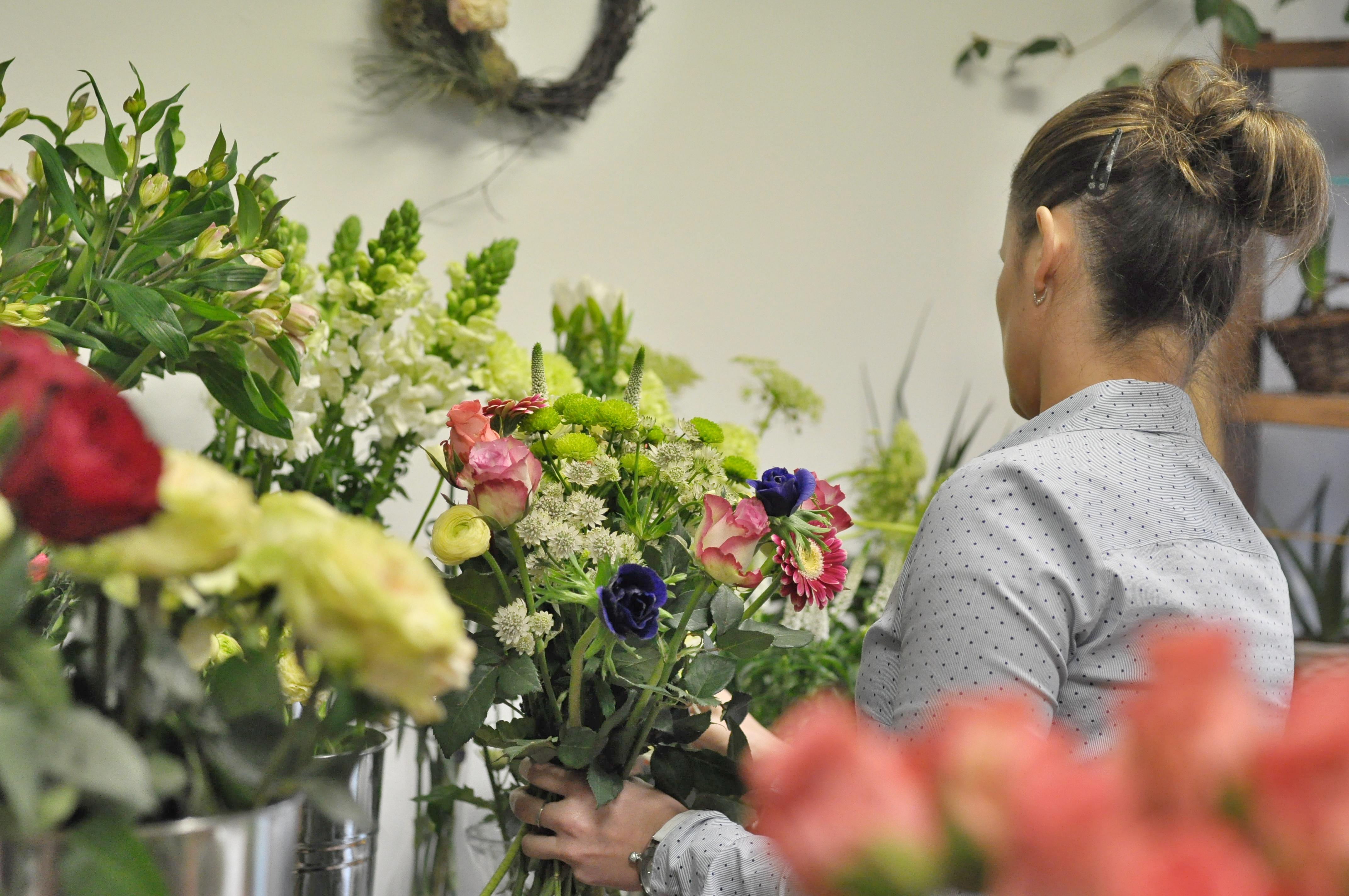 Na den floristkou