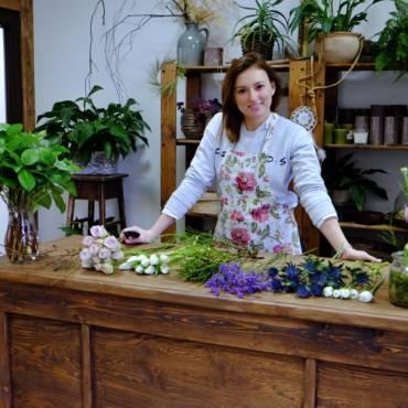 Zážitkový kurz: Na den floristkou