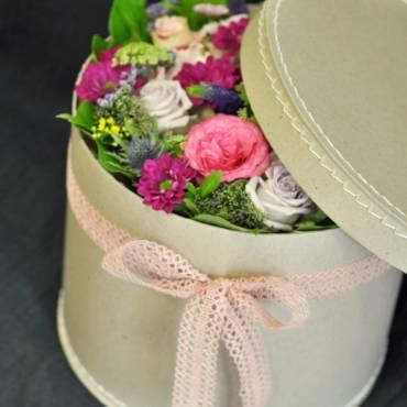Květinová krabice