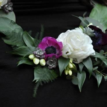 Květinový šperk